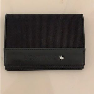 Authentic Montblanc man's wallet